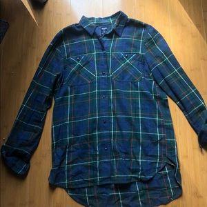 Madewell plaid flannel